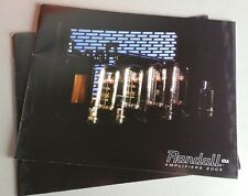 Randall Guitar Amps Amplifiers MTS 2005 Sales Catalog Brochure 20 Pages