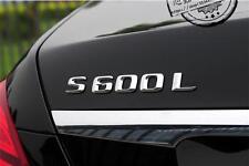 E800 S600L Emblem Badge auto aufkleber 3D Schriftzug car Sticker S 60 S60 S600
