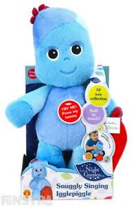 Iggle Piggle Snuggly Singing Igglepiggle Talking Plush Toy In the Night Garden T