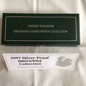 ROYAL MINT UK Britannia Collection Silver Proof 1997