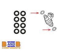 VW GOLF MK4 1.4 1.6 1.8T FUEL INJECTOR SEALS 035906149A x 8 C698