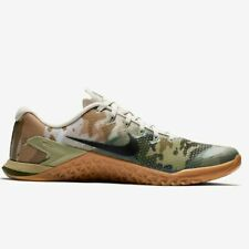 Nike Metcon 4 Olive Canvas Camo AH7453-300 CrossFit Workout Training Shoes Rare