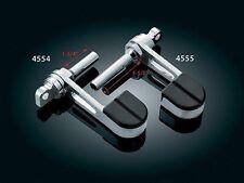 Kuryakyn 4554 Stirrup Heelrest for Harley Pegs (pair)