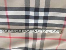 100%cotton Burberry Material Fabric .50 Cm X 140 Cm