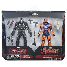Marvel Legends War Machine & Iron Man Mark 27 Civil War 2 Pack Avengers