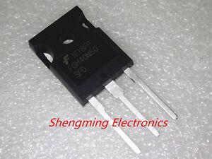 5pcs FGH40N60SFD FGH40N60 40N60 Farichild TO-247 IGBT 600V 40A