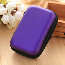 1xEarphone Headphone Earbuds Cable Storage Bag Case Container Box Pouch Hol pQ