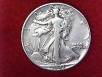 1941 P Philadelphia mint 90% silver Walking Liberty half-dollar #30