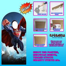 Superman 'Hombre de Acero' Soporte en cartón recorte Stand Up Ideal Para Fotos