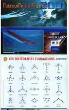 PATROUILLE DE FRANCE PAF 2001 AEROBATIC TEAM AIRCRAFT RED ARROWS FOUGA - DVD