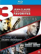 Cyborg/Death Warrant/Double Impact (Blu-ray Disc, 2014, 3-Disc Set)