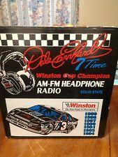 Dale Earnhardt Sr AM-FM Headphone Radio