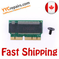 NVMe PCIe M.2 Key SSD Expansion Adapter Card for Macbook Pro Air 2013 2014 2015
