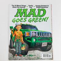 Mad Magazine October 2008 No. 494 Goes Green! Very Fine VF 8.0