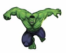 Marvel Superheroes Comic - Avengers The Incredible Hulk Giant Wall Decal Sticker
