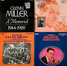 "GLENN MILLER & ORCHESTRA LOT OF 4 VINYL LP RECORDS 12"" LP Albums"