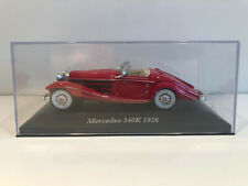 1/43 IXO Voiture Miniature Mercedes 540K 1936 Neuf