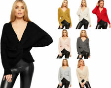 Hip Length V Neck Tops & Shirts for Women with Ruched