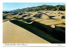 Great Sand Dunes National Monument Postcard Colorado San Luis Valley Unposted