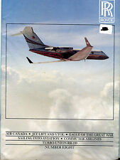 The Rolls-Royce Magazine Number Eight Air Canada Jet Lift and Vtol EX 011116jhe2