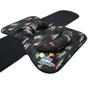 Pony Up Daddy Saddle - Green Camouflage - (Ages 2-6)