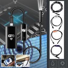 7mm en el endoscopio del teléfono Android IP67 Borescope LED Cámara 3.5M Cable d