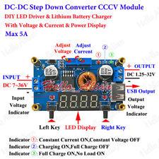 DC 5V 12V 24V 5A CCCV Buck Converter Step Down Module LED Driver Battery Charger