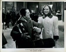 SONJA HENIE RICHARD GREENE MY LUCKY STAR 1938   ORIG 8X10 Photo X1318