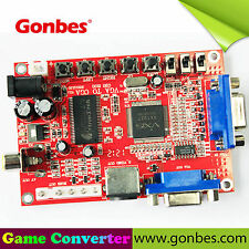 Gonbes GBS-8100 PC VGA para CGA 15kHz/RGBS/AV/S-VIDEO MAME CRT TV Arcade Monitor
