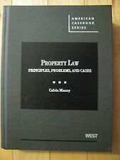 Property Law: Principles, Problems, and Cases (American Casebook)