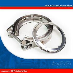 Exhaust Pipe DPF Connector Clamp & Gasket - Audi VW Seat Skoda - 1K0253725