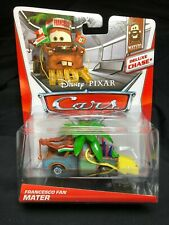 Disney Pixar Cars Movie Deluxe CHASE Francesco Fan Mater