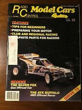 Vintage Radio Control Model Cars Jan/Feb1986 Third Issue AYK Buffalo 4WD RC Show