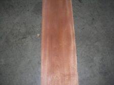 Sapele Wood Veneer. 9 x 129, 4 Sheets.