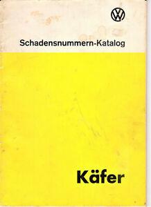 Coccinelle Karmann Kübelweagen - catalogue designation des pieces en allemand 75