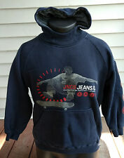 Jnco Jeans Mens Pull-Over/Logo Sweatshirt/Hoodie/Coat-Navy Blue/Red/White-Small