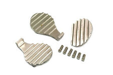 Finned Pedal Pad 3 Piece Set For Harley-Davidson