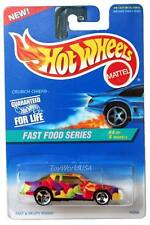 1996 Hot Wheels #419 Fast Food #4 Crunch Chief Chevy Stocker