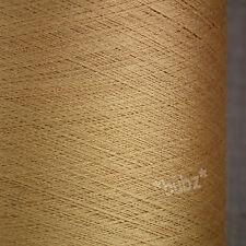 Stordimento SUPER SOTTILI 2/120 PURA SETA FILATO cobweb 250g CONO laceweight BRONZO ORO