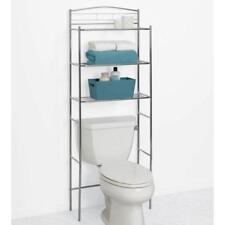 New Glacier Bay Over The Toilet Spacesaver Chrome 1000 017 517 Shelf Organizer