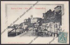 MILANO VAPRIO D'ADDA 08 VILLA FALCÒ - VISCONTI-MELZI  Cartolina viaggiata 1905