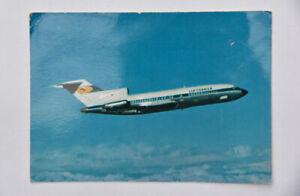 Lufthansa Boeing 727 airline postcard