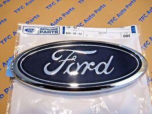 Ford Truck Van Front Grille Blue Oval Emblem Plate Badge OEM New Genuine Part