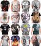 Star Wars T Shirt Force Awakens Darth Vader Stormtrooper All Over print Slim Fit