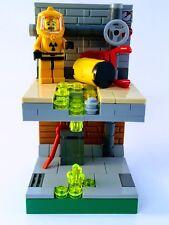 Lego Custom Diorama Hazmat Guy Set Minifigure MOC OOPS! Scene Breaking Bad