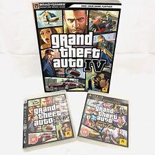 - PS3-Grand Theft Auto 4 & Episodios De Liberty City plus guía de juego oficial