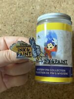 Disney Ink & Paint Hand & Paintbrush Artist Logo Marquee Mystery Pin Series 1