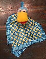 Tomy Squacky Jim Hensen Pajanimals Lovey Baby Blanket Blankie Plush Security