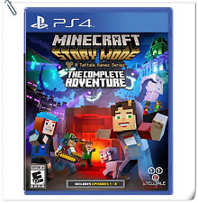 PS4 Minecraft: Story Mode The Complete Adventure Telltale Adventure Games