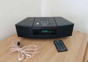 Bose Wave Radio CD Player with remote control - Black (AWRC3G)
